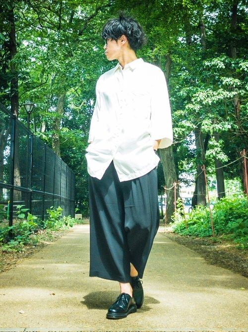 高道(takamichi)|UNIQLOのシャツ・ブラウスを使った