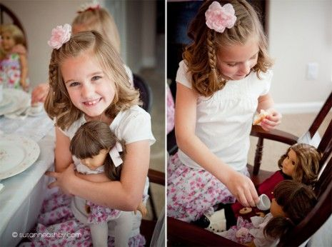 cute with dolls