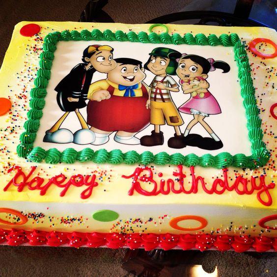 El chavo del 8 cake: