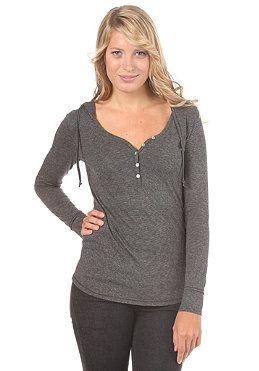 VOLCOM Womens Boiler Room Ministripe L/S Shirt black combo