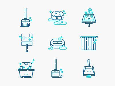 Cleaning Icon Disenos De Unas Iconos Limpieza Casa