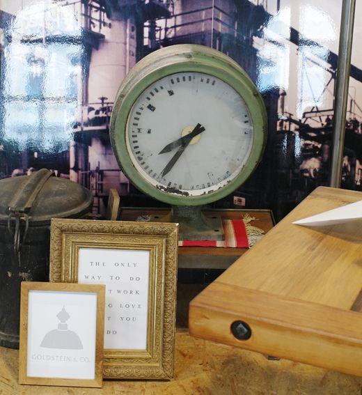 Bahnhofsuhren für Wohnung, Loft und Atelier