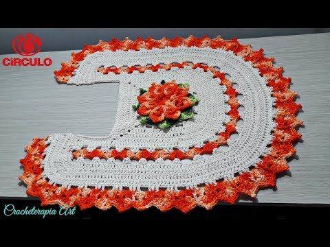Jogo de banheiro flor catavento
