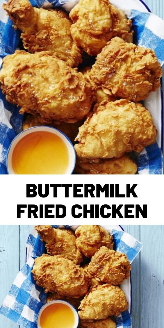 Buttermilk Fried Chicken In 2020 Cooking Recipes Spicy Recipes Delish Recipes