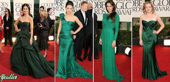 2011-  Catherine-Zeta Jones/MONIQUE L'HUILLIER   Mila Kunis/VERA WANG  Angelina Jolie/VERSACE   Elizabeth Moss
