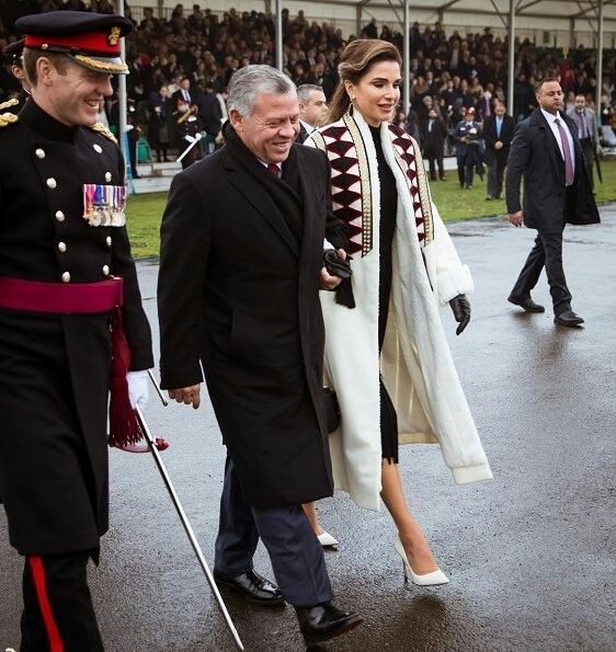 Jordanian Princess Salma Completed A Two Month Education At The