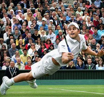 Andy Roddick- best player to never win Wimbledon