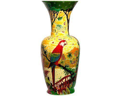 Grande jarre oiseaux d 39 am rique alain thomas pour emaux for Alain thomas