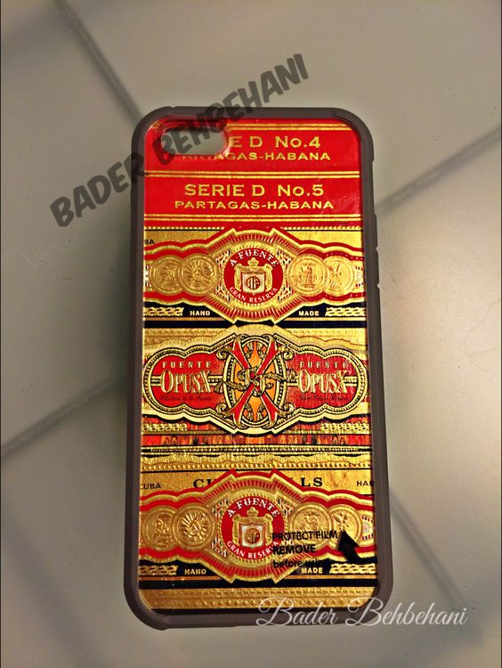 IPhone 5S cover ! Made by me w/ original cigar tags.