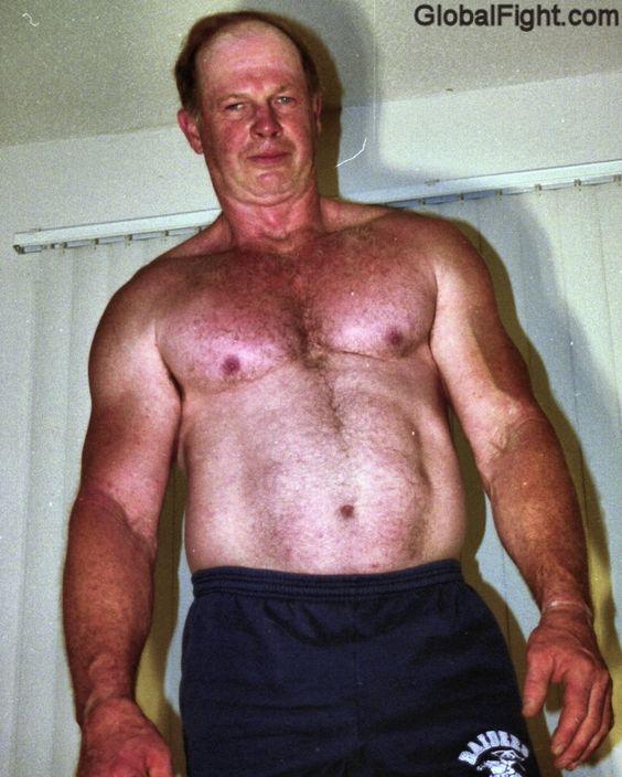 handsome husky wrestling coach