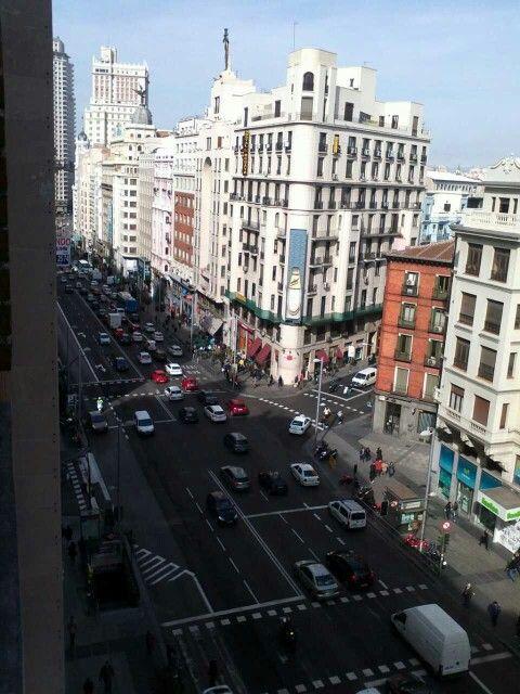Madrid por el día