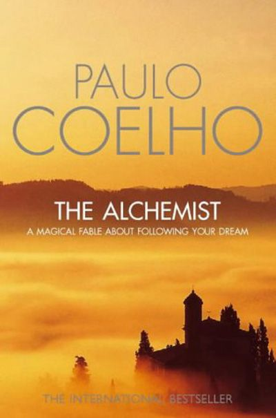 The Alchemist by Paulo Coelho.  Already have a copy of this book.  If you like adventure stories about following your dreams, this is the ultimate feel-good book for you. Considered a modern classic, The Alchemist is a story about travel, treasure, and following your dreams. Powerful stuff!