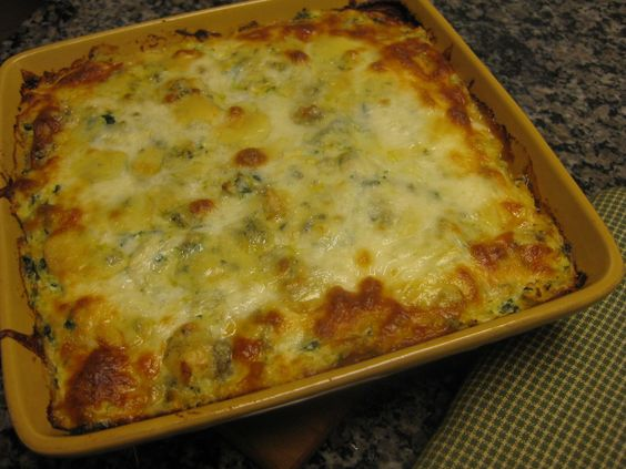 Baked spaghetti squash, Baked spaghetti and Spinach ricotta on ...