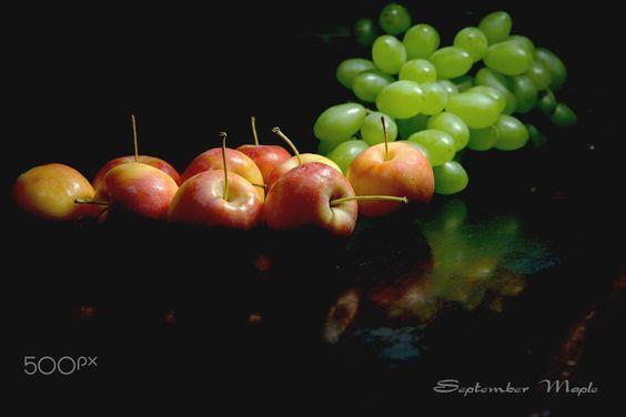 沙果与葡萄 - SONY DSC