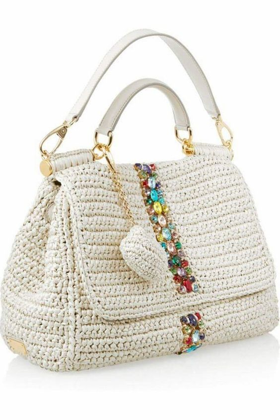 Crochet Bags for Ladies Yarny Stuff Pinterest Borse, Ispirazione ...