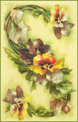 7 das Artes: Catherine Klein - Alfabeto de Flores.                                                                                                                                                                                 Mais