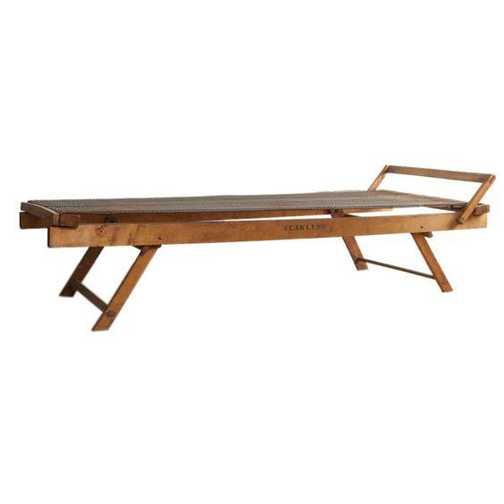C1910 Wooden Folding Cot Pinterest Beds Cots And Antiques