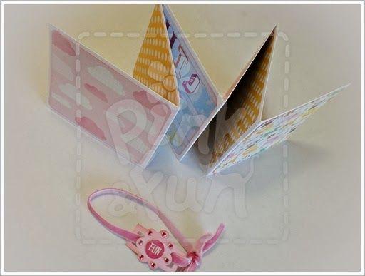 Acordeon Mini Album http://pinkandfun.blogspot.pt