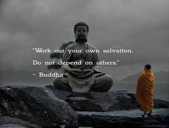 work out your own salvation do not depend on others