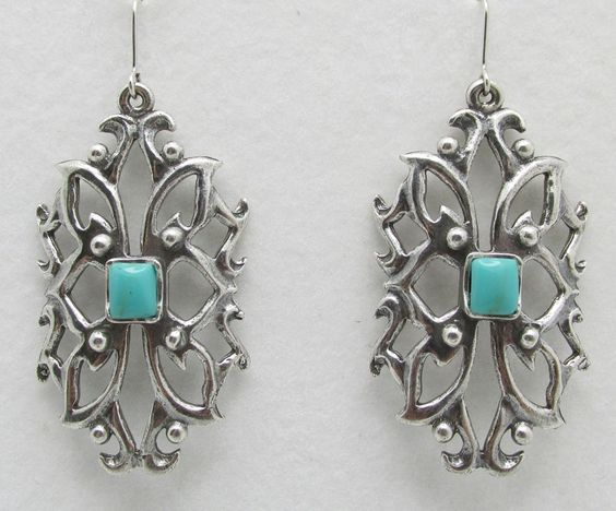 Gayle Earrings - Turquoise