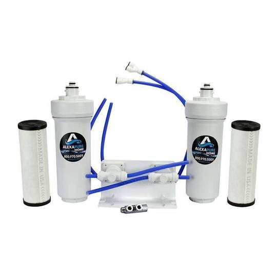 Install This Powerful Water Filtration System Under A Kitchen Or Bathroom Sink And Start Drinking Purif In 2020 Water Filtration System Water Filtration Drinking Water