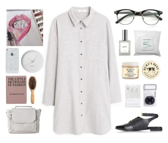 """""""Cause if you like the way you look that much, Oh baby you should go and love yourself, And if you think that I'm still holdin' on to somethin', You should go and love yourself..."""" by anastipancevic ❤ liked on Polyvore featuring мода, MANGO, Sephora Collection, Burt's Bees, Topshop, philosophy, Mossimo, Forever New, Georg Jensen и Samsung"""