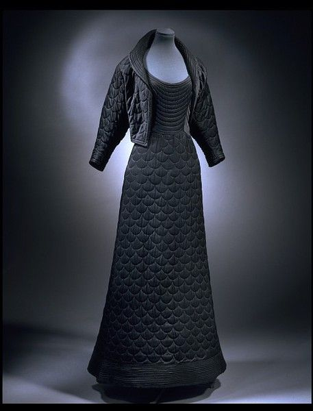 And with its jacket. Image via Pinterest courtesy V and A.