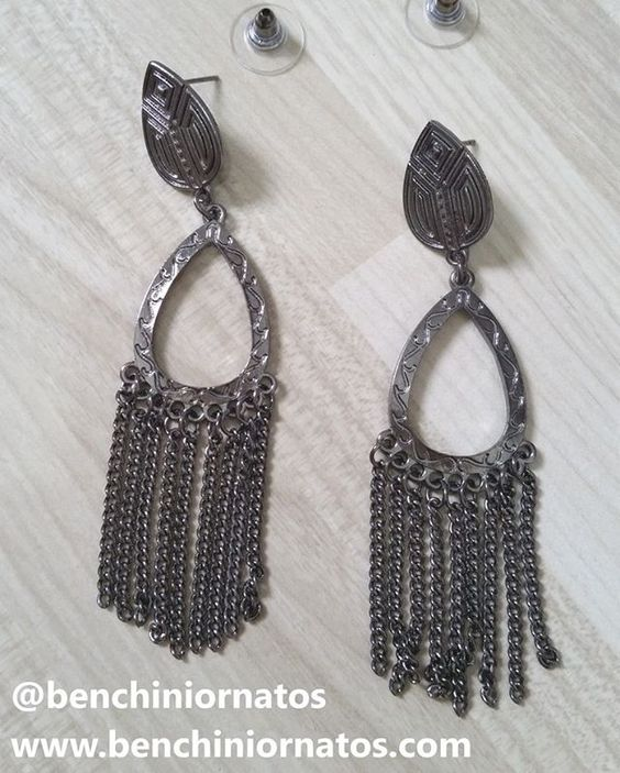 @benchiniornatos #brincodemetal #brincos www.benchiniornatos.com WhatsApp 11 945676365
