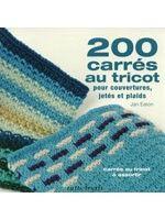 200 carrés au tricot