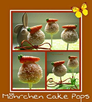 'Möhrchen Cake Pops'