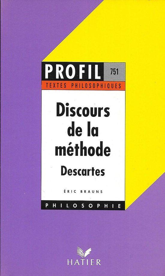 Profil Textes Philosophiques Discours De La Methode Descartes Livre Poche En 2020 Discours Philosophie Texte