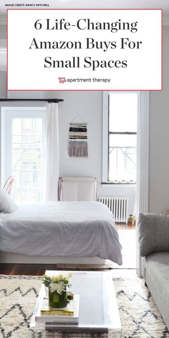 The 6 Amazon Small Space Buys That Make My Apartment Livable And