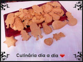 Culinária dia a dia: Bolachas de Natal