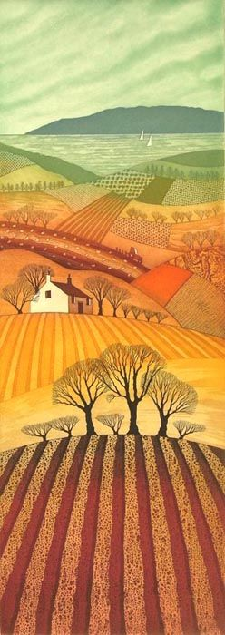 Rebecca Vincent - etchings    Quilting inspiration                              …