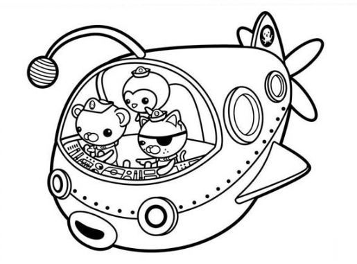 Octonauts Coloring Page Online Coloring Pages Coloring Pages