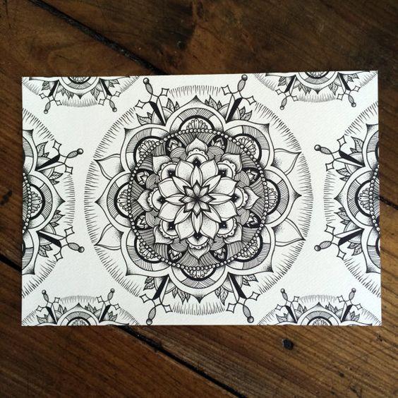 LIMITED Mandala Pattern - Tattoo print