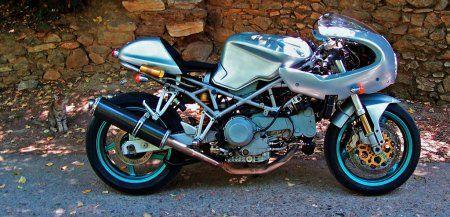 DUCATI ST4S CAFE RACER Greece!