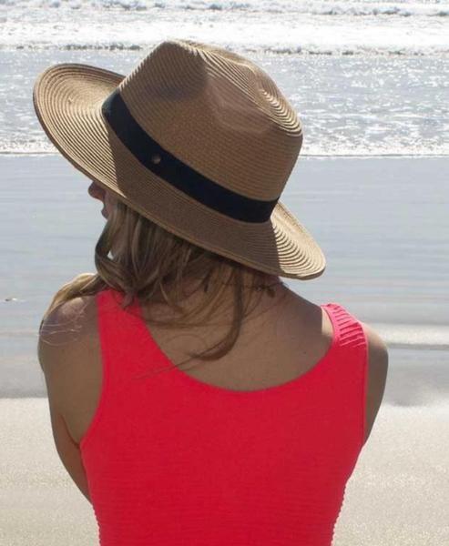 Havana Fedora Hat Unisex Packable Lightweight Fits Large Heads 3 Inch Wide Brim Upf 50 Sun Hats For Women Fedora Hat Fedora