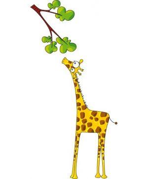 Madame #Girafe vous attends sur votre mur !