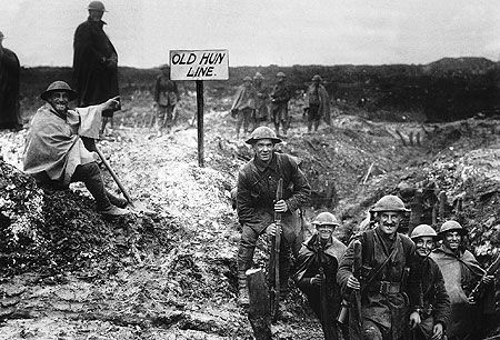 The jauntiness with which British troops had steamed across the English Channel to take on the Hun faded on the killing fields of France. Between 1914 and 1919, 6.2 million Englishmen were mobilized (out of an adult male population of 20.5 million). More than 744,000 did not make it home.