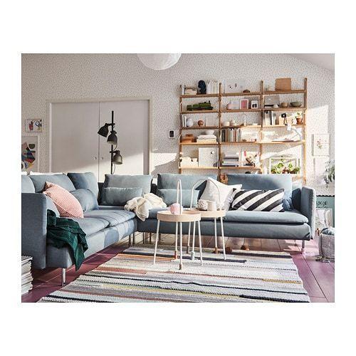 Soderhamn Ecksofa 6 Sitzig Finnsta Turkis Ikea Deutschland Gestaltung Kleiner Raume Ikea Ecksofa Ecksofa