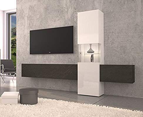 Tecnos Wohnwand Mediawand Wohnzimmer Schrank Fernseh Schrank