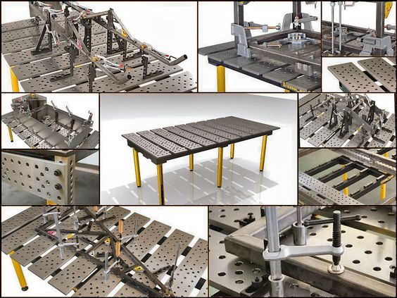 One Awesome Welding Table Metal Work Blacksmith