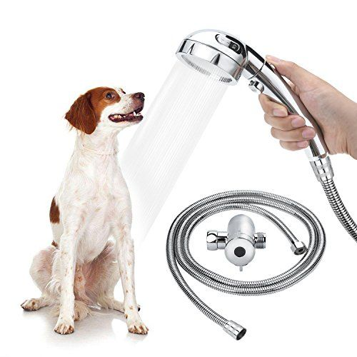 Star Factory Pet Dog Shower Sprayer Attachment For Pet Bathing And