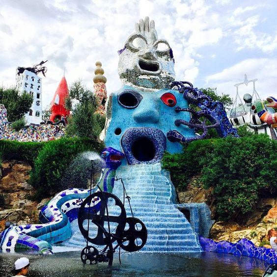 Il Giardino dei Tarocchi, un parco artistico che vi lascerà a bocca aperta! Garavicchio, Capalbio - Grosseto - Tuscany The Tarot Garden,  an artistic park  that will leave you open-mouthed! Garavicchio, Capalbio - Grosseto - Tuscany #IlikeItaly #Italia #Italy #GiardinodeiTarocchi #GiadinoTarocchi #TarotGarden #Toscana #Tuscany