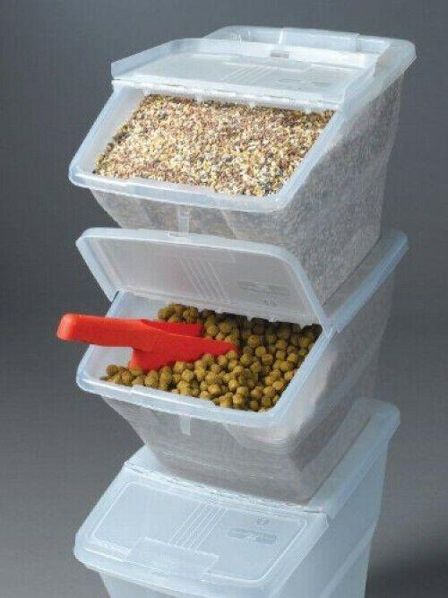 Pin By Sienna Skye On Pets In 2020 Stackable Bins Pet Food Storage Storage Bins With Lids