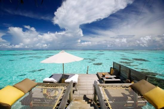 "Gili Lankanfushi Maldives - ""Absolute paradise, with ultimate comfort and privacy. The villa attendant is like a ninja. Comes in and out without being seen, yet keeps everything in order."""