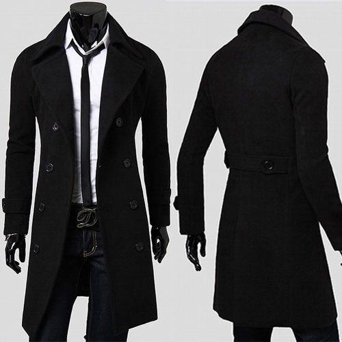 Details about SALE TOP DESIGN Men Slim Fit Outwear Casual Formal