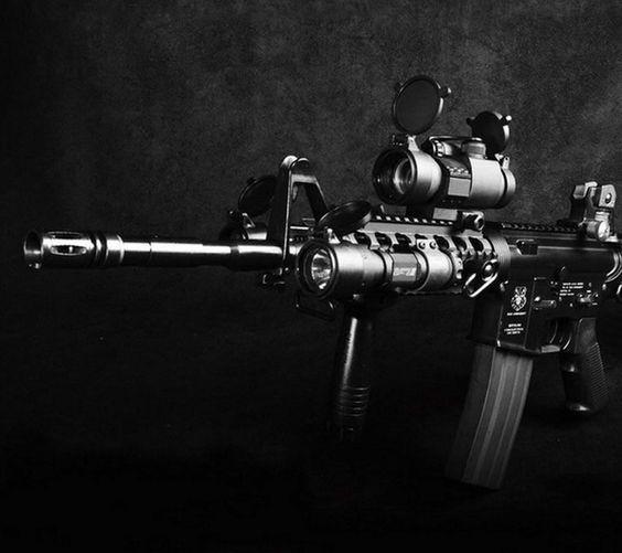 Modern gun Galaxy S4 HD Wallpapers