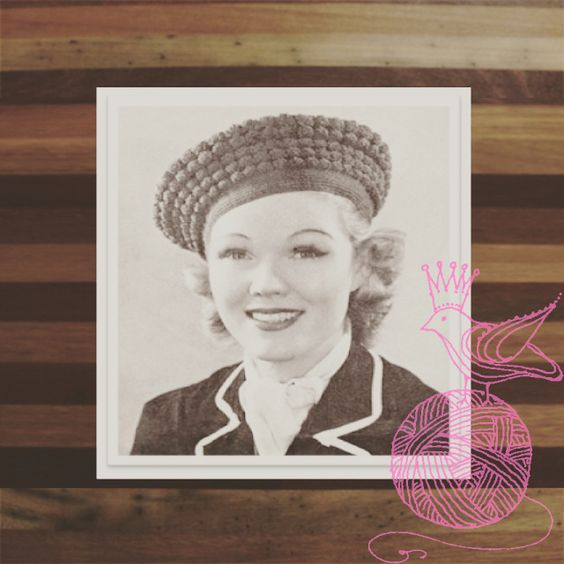 That is a nice looking hat. ONLY 99 CENTS! #THEROUNDABOUTKNITTINGPATTERN2074 #KINDLE #AMAZON #PRINCESSOFPATTERNS #KNITTINGPATTERN  #VINTAGE #RETRO #DIY #YARN #WOOL #KNITTING #WOMEN #ACCESSORIES #HATS #ACCESSORY #CAPS #CAP #HAT #WOMAN #LADY #LADIES
